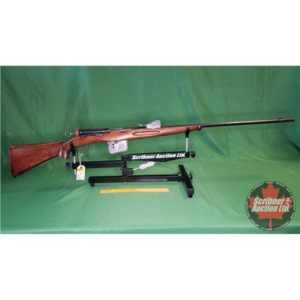 Rifle: Schmidt Rubin 1889 Straight Pull Bolt 7.5 x 55 - Sporterized (S/N#192659)