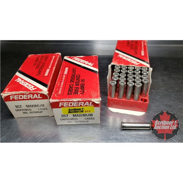 AMMO: 357 Maximum (150Rnds) (3 Boxes)