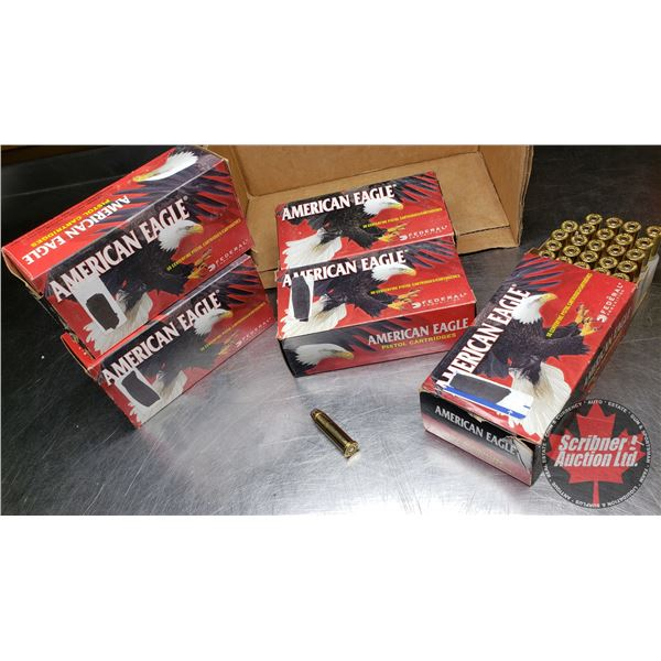 AMMO: American Eagle 357 Magnum 158gr Jacketed SP (250 Rnds - 5 Boxes)