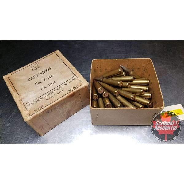 AMMO: 7mm Mauser (48 Rnds)