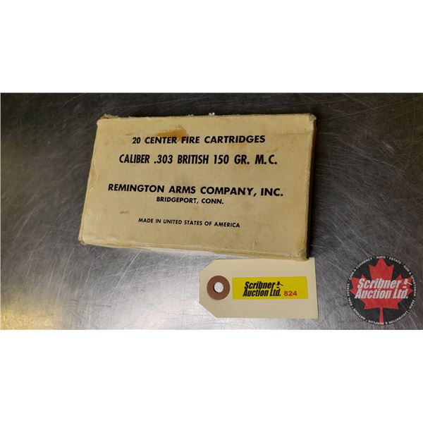 AMMO: 303 British Remington Arms Company Inc (14 Rnds) & Imperial 303 British (5 Rnds) (War Time) (N