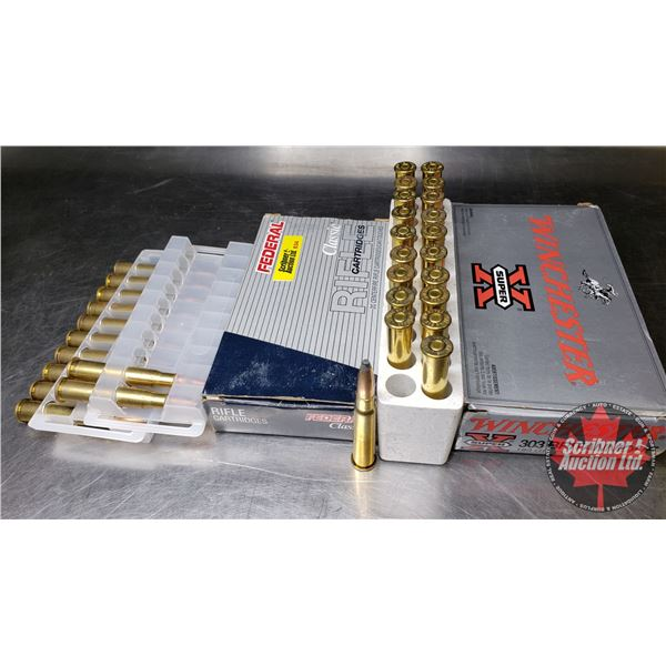 AMMO: 303 British Federal (12 Rnds) & Winchester Super X (20 Rnds)