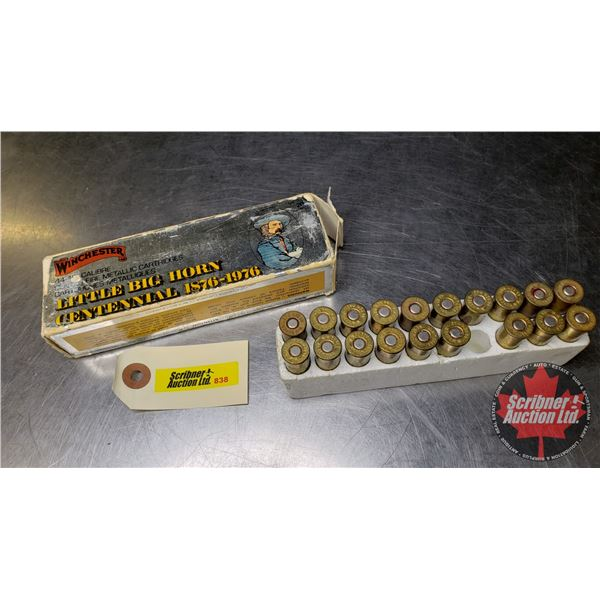 AMMO: 44Mag (19 Rnds in Little Big Horn Box)