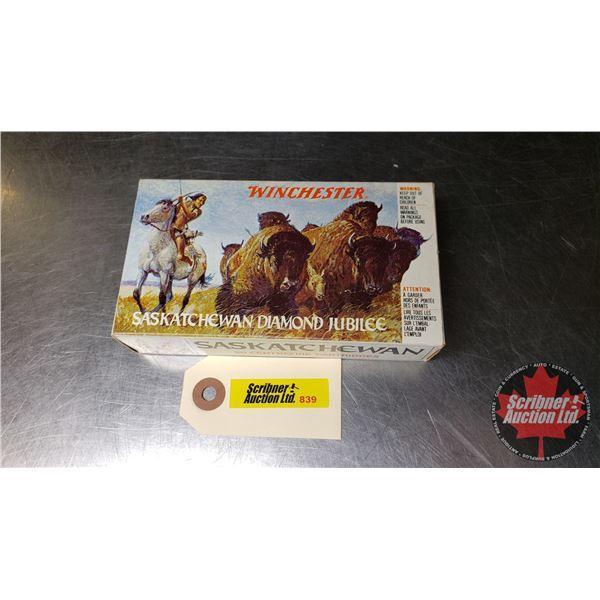 "AMMO: Winchester ""Saskatchewan Diamond Jubilee"" (38-55Win 255gr S.P.) (1 Box = 20 Rnds)"