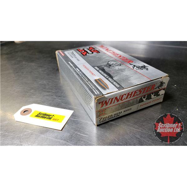 AMMO: Winchester Super X 7mm Rem Mag (150gr) (18 Rnds)