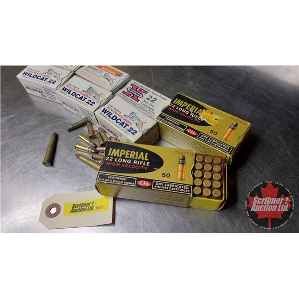 AMMO: Variety 22LR (Approx 400 Rnds)