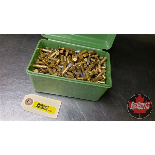 AMMO: Variety 22LR (Approx 600 + Rnds) in Green Case