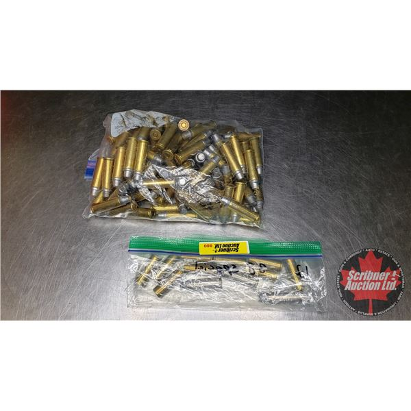AMMO: 38 Special (Mostly SWC & 9 WC) (92 Rnds)