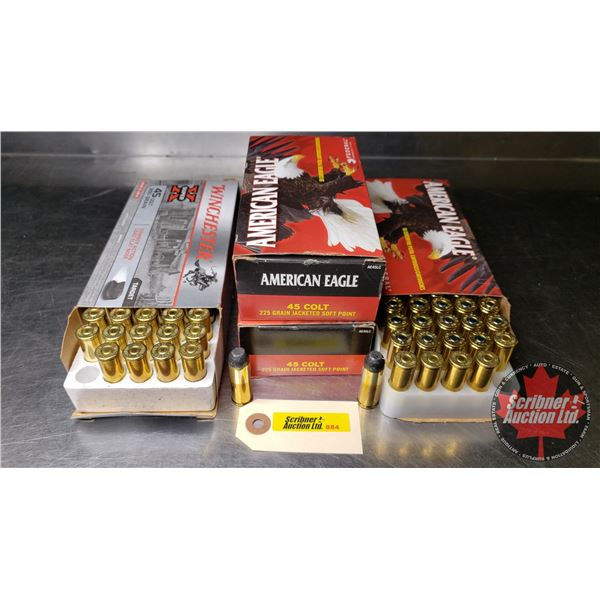 AMMO: 45 Colt (American Eagle - 3 Boxes) & (Winchester Super X - 1 Box) (200 Rnds Total)