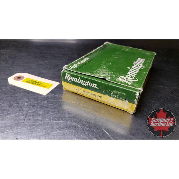 AMMO: Remington 280 Rem (18 Rnds)