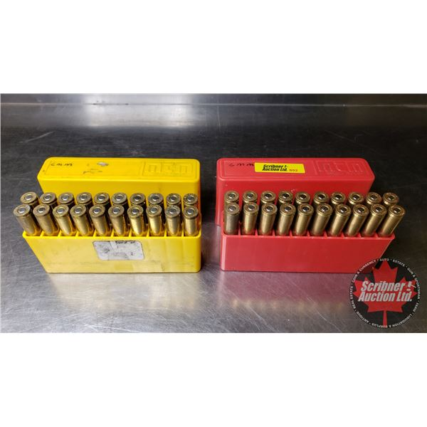 AMMO: 6mm Rem (w/2 Plastic Ammo Cases) (40 Rnds)