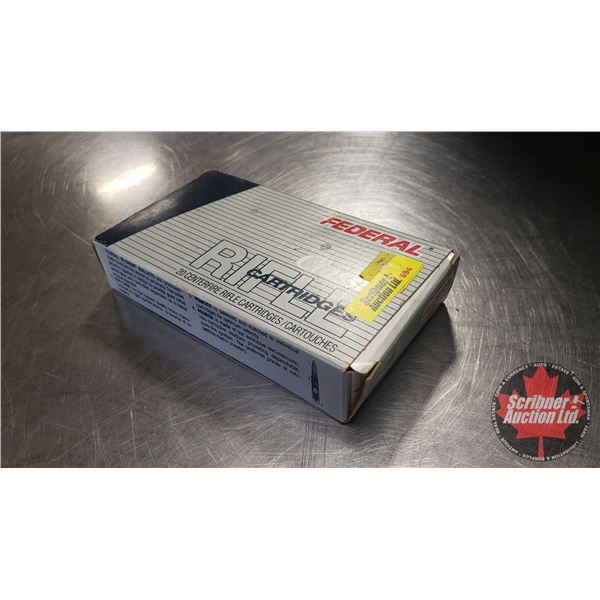 AMMO: Federal Classic 30-06 SPRG (1 Box = 20 Rounds)