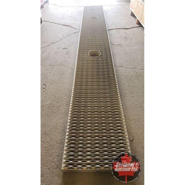 """Aluminum Walking Deck (Trailer Top) (144""""H x 18-1/2""""W x 2""""D)"""