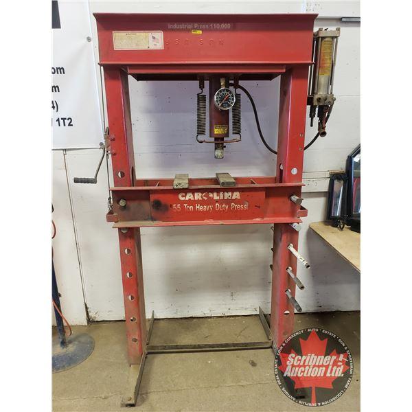 Carolina 55 Ton Heavy Duty Press