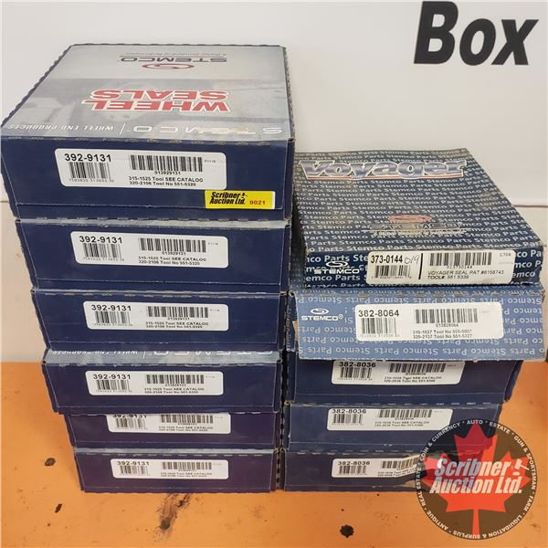 Stemco Wheel Seals (11 Boxes) (See Pics for Part #'s)