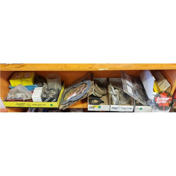 Shelf Lot: Various Gaskets, Seals, Small Parts (See Pics)