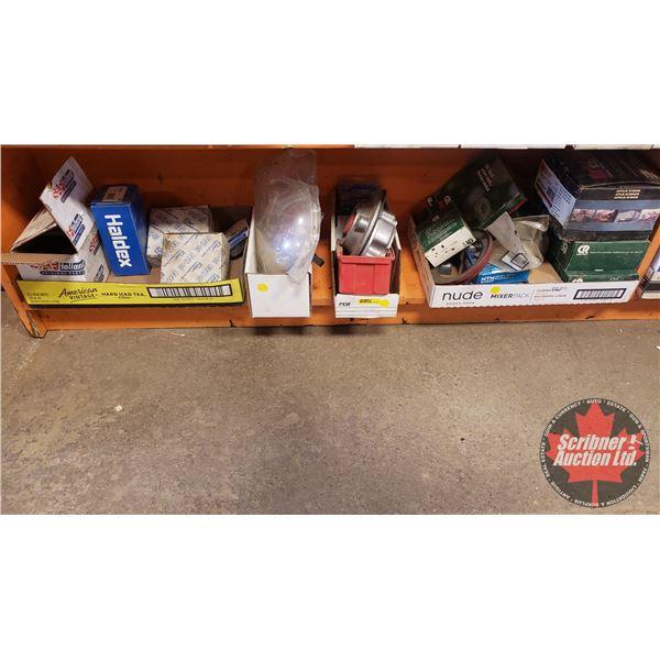Shelf Lot: Various Small Parts (See Pics)