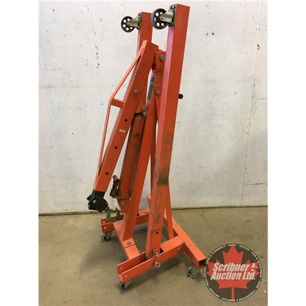 "Strongarm 2 Ton Shop Crane (Folded = 65""H x 33""W x 26""D)"