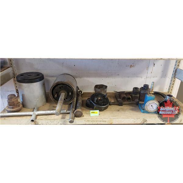Shelf Lot: Suspension Bushing Installation & Removal Tools & Valve Spring Compressor etc
