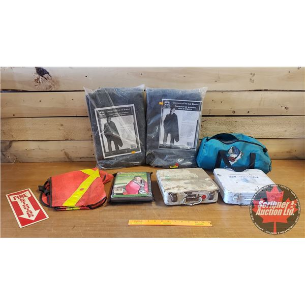 Shelf Lot: Safety First Aid Kits & Safety Gear
