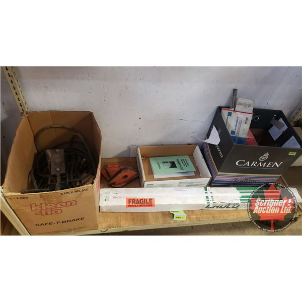 Shelf Lot - Welding Supplies (Prime-Cut Cutting Rods, Fab Magnets etc)