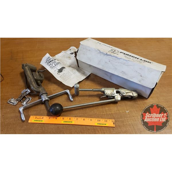 Box Lot: Punch-Lok Hose Clamp Tool