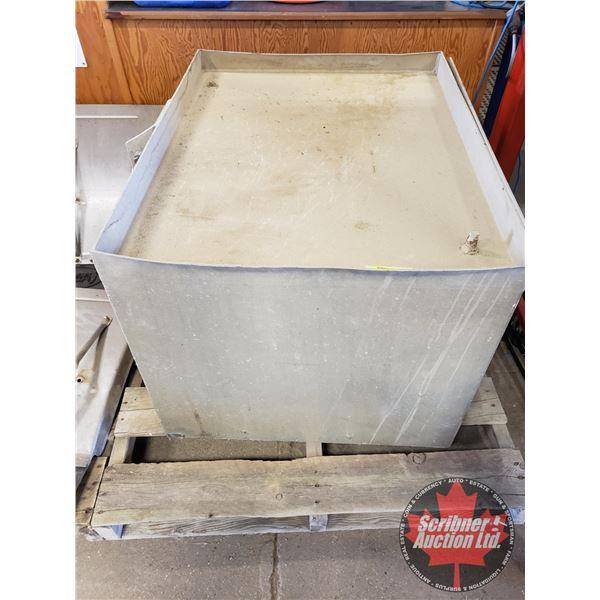 """Aluminum Tool/Storage Box (24""""H x 36""""W x 28""""D)"""