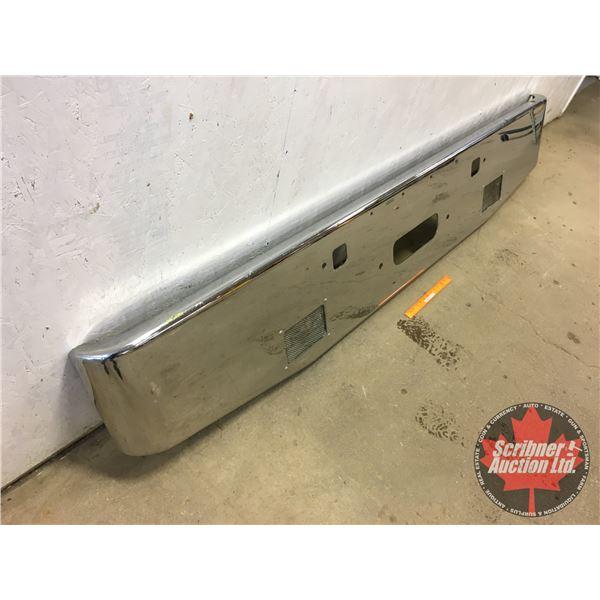"Chrome Bumper Peterbilt (16-1/2""H x 94-3/4""W)"