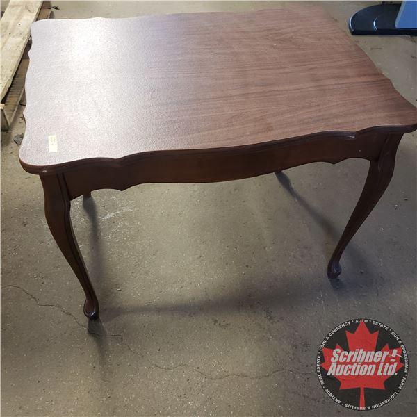 "Coffee Table - Scalloped Edge (21""H x 20""W x 28""D)"