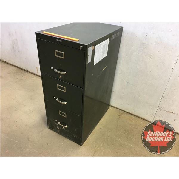 """Filing Cabinet - 3 Drawer """"Prestonia"""" (42""""H x 18""""W x 28""""D)"""