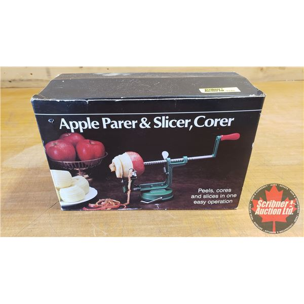 Apple Parer/Slicer/Corer