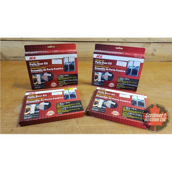 New Surplus: Patio Door Kit (4 Boxes) (See Pics for Specs)