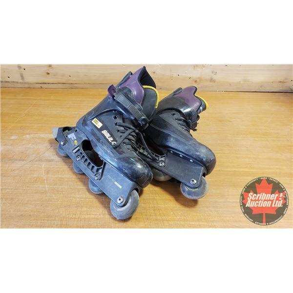 Bauer F3 Inlines Roller Blades - Size 9