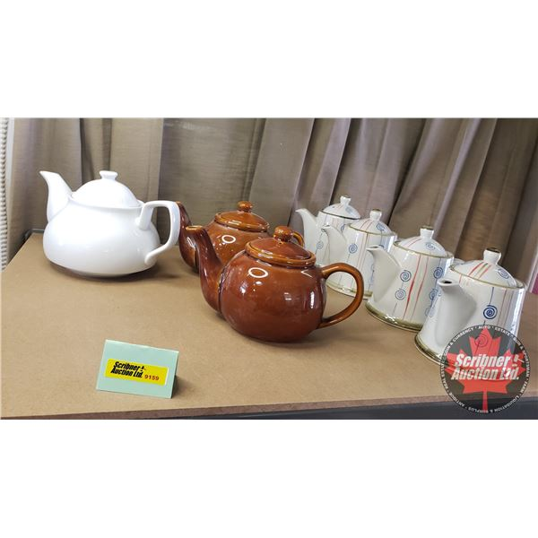 Shelf Lot: Tea Pots - Variety (7)