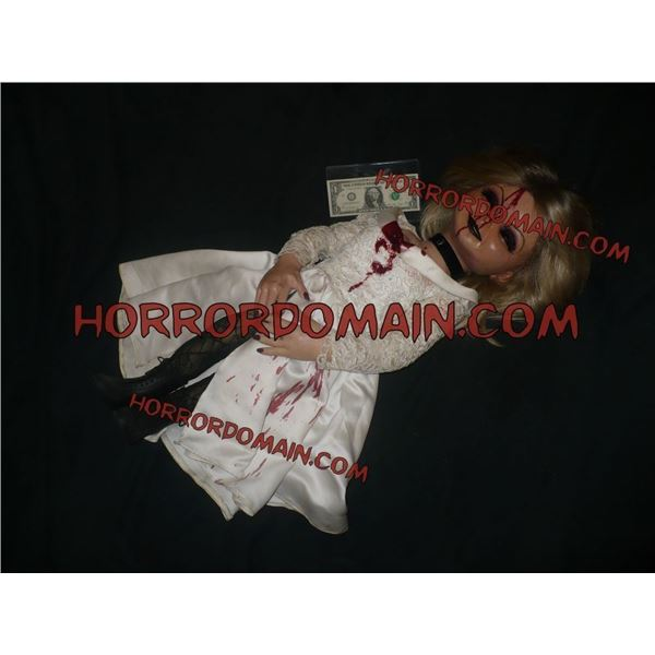 SEED OF CHUCKY HERO DEAD TIFFANY PUPPET SCREEN MATCHED