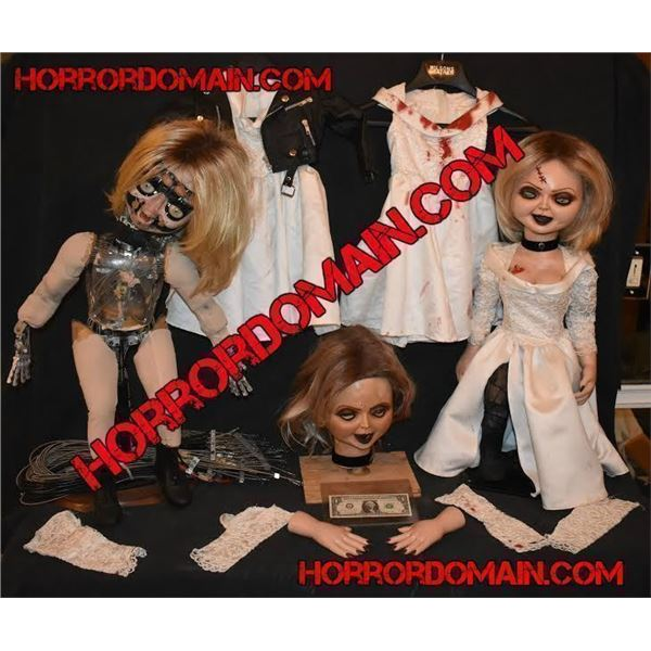 SEED OF CHUCKY TIFFANY SCREEN MATCHED HERO ANIMATRONIC AND ARMATURED PUPPETS