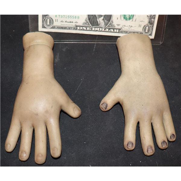 SEED OF CHUCKY GLEN GLENDA SCREEN USED HERO ANIMATRONIC PUPPET HANDS
