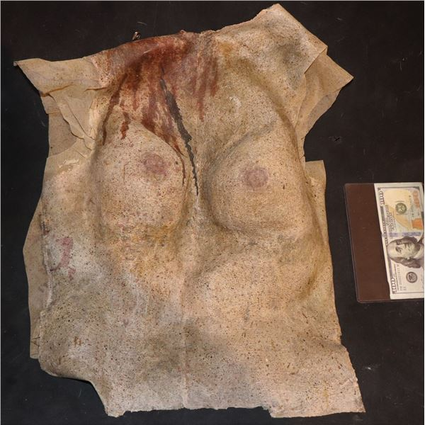 ARMY OF THE DEAD SCREEN USED BLOODY BREASTS WEARABLE CHEST