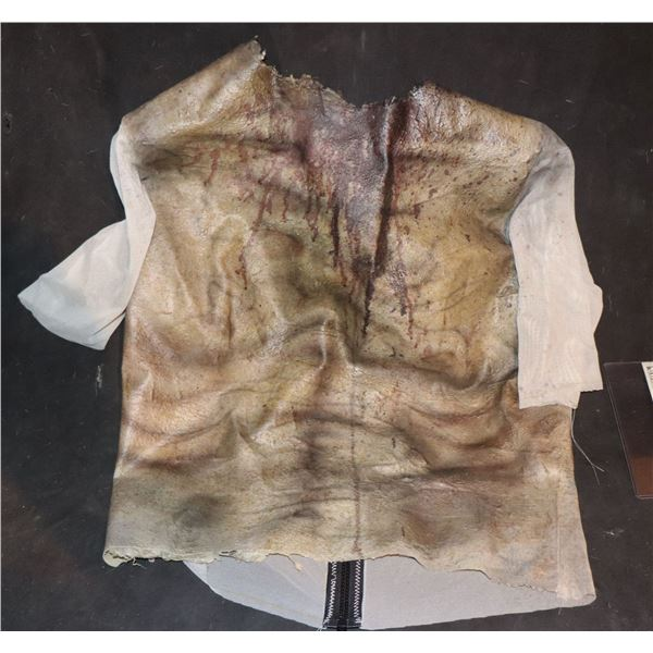ARMY OF THE DEAD SCREEN USED BLOODY WEARABLE CHEST 5