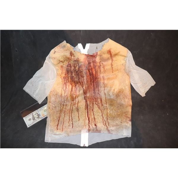 ARMY OF THE DEAD SCREEN USED BLOODY WEARABLE CHEST 6