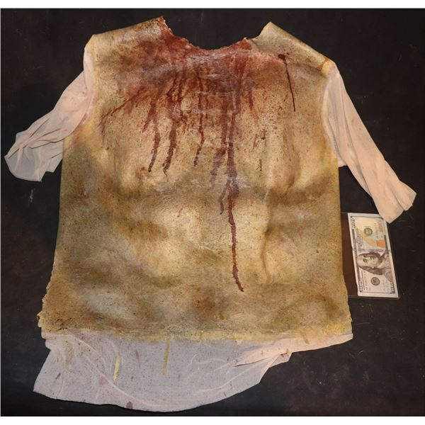 ARMY OF THE DEAD SCREEN USED BLOODY WEARABLE CHEST 1