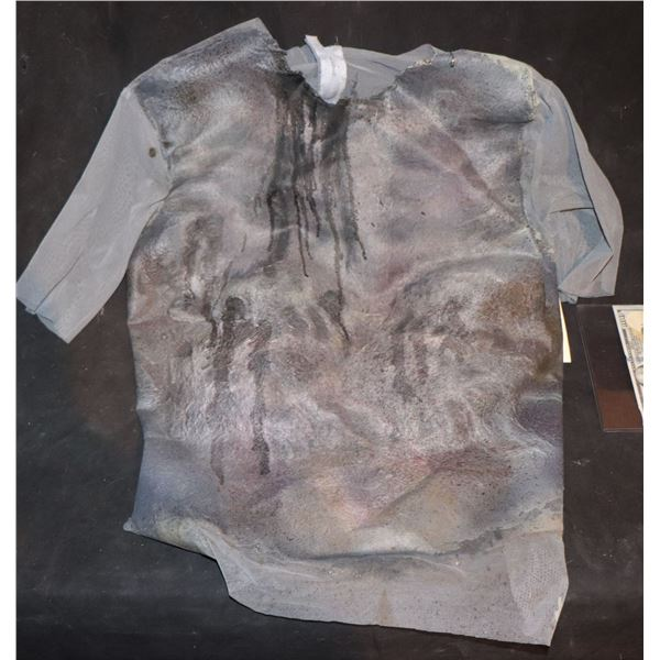 ARMY OF THE DEAD SCREEN USED BLOODY WEARABLE CHEST 2