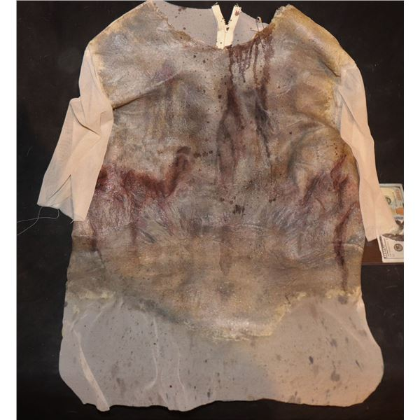 ARMY OF THE DEAD SCREEN USED BLOODY WEARABLE CHEST 3