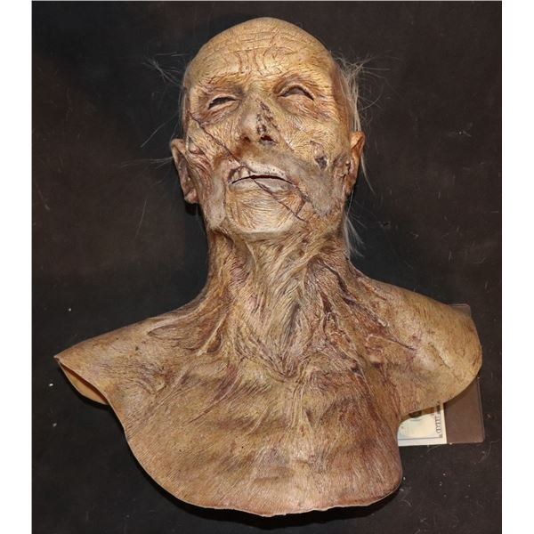 ARMY OF THE DEAD SCREEN USED FULL HEAD MASK WITH NECK 2