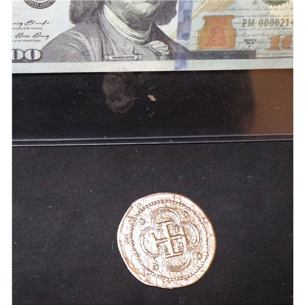 PIRATES OF THE CARIBBEAN GOLD TREASURE COIN