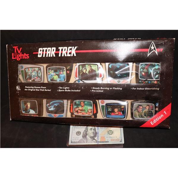 STAR TREK TV LIGHTS EDITION 1 STILL IN THE BOX