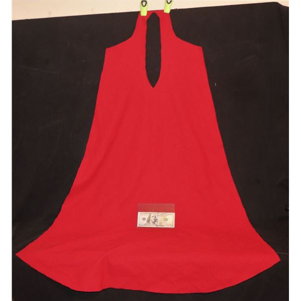 THE FLASH MOVIE SUPERGIRL FULL CAPE PANEL FIRST PIECE FROM FILM