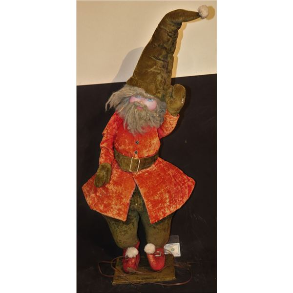 HOW THE GRINCH STOLE CHRISTMAS ANIMATRONIC ELF GNOME GREEN