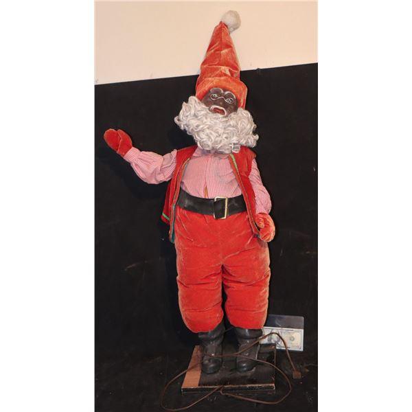 HOW THE GRINCH STOLE CHRISTMAS ANIMATRONIC BLACK SANTA GNOME