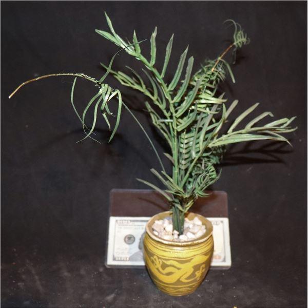 GODZILLA CONTROL ROOM PLANT IN POT MINIATURE SCREEN USED